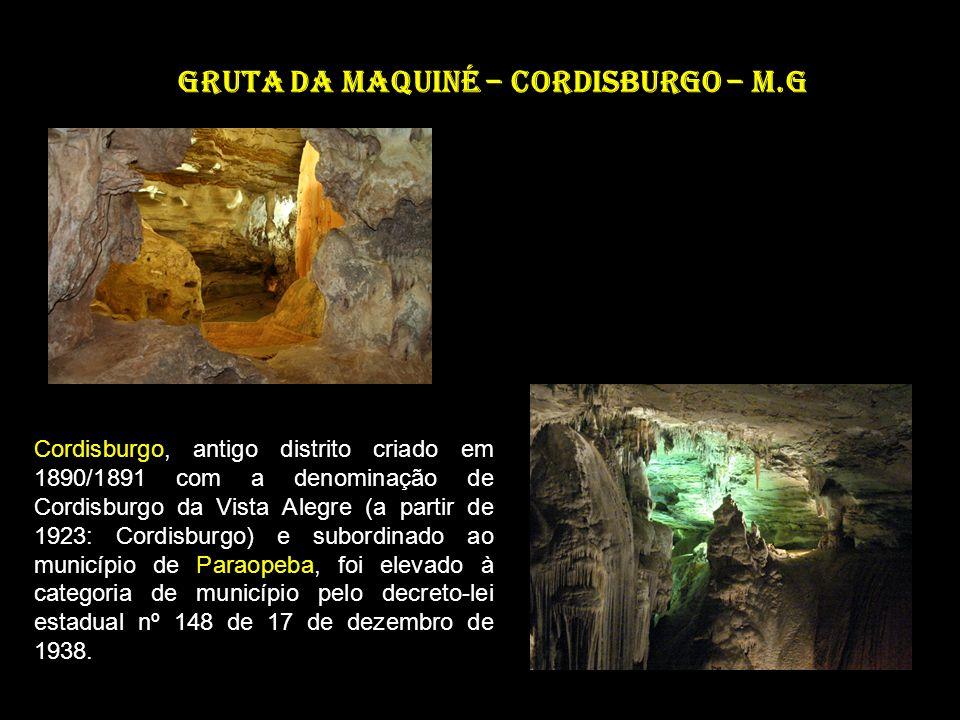 Gruta da Maquiné – Cordisburgo – M.G