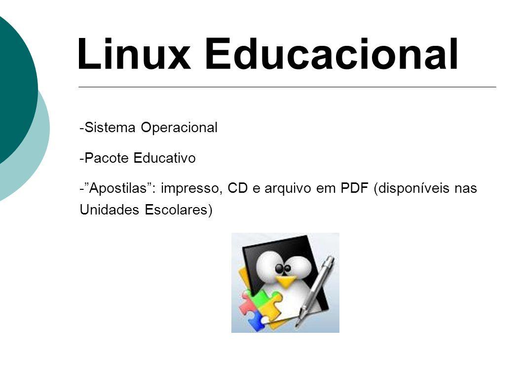 Linux Educacional Sistema Operacional -Pacote Educativo