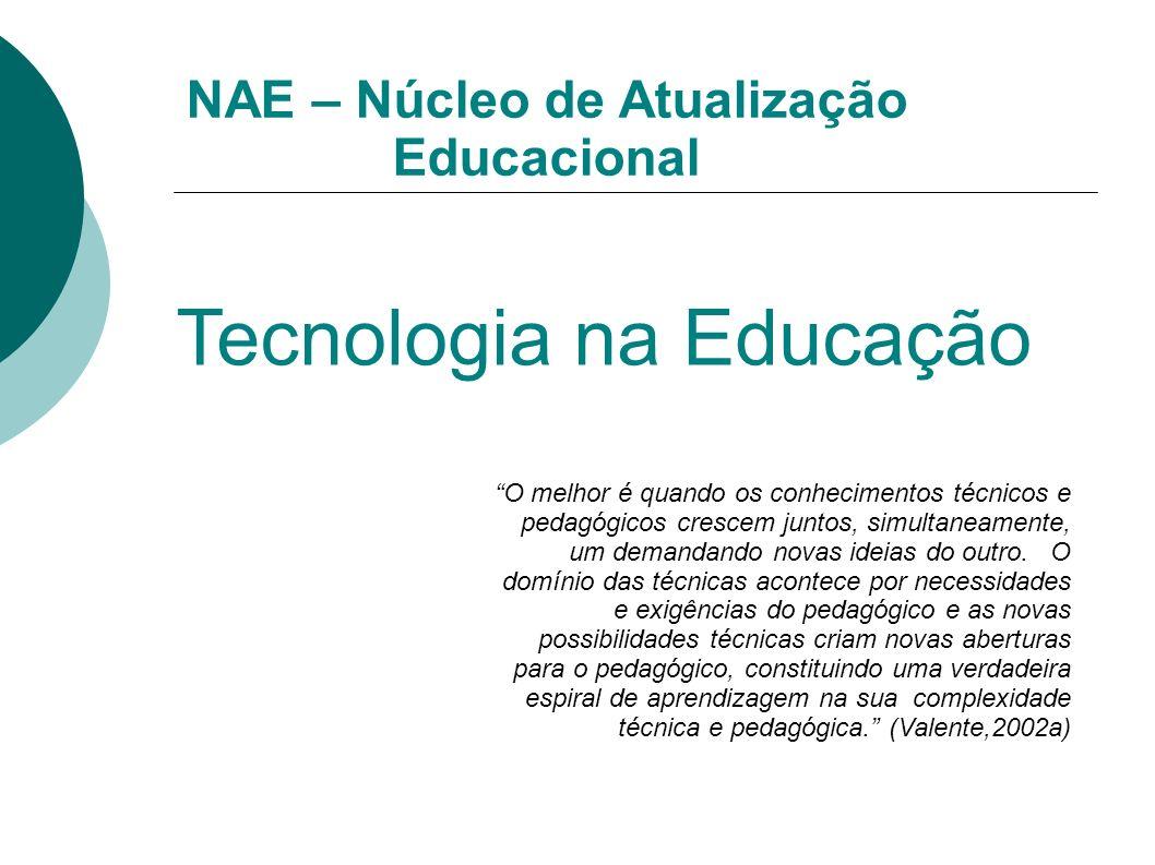 NAE – Núcleo de Atualização Educacional