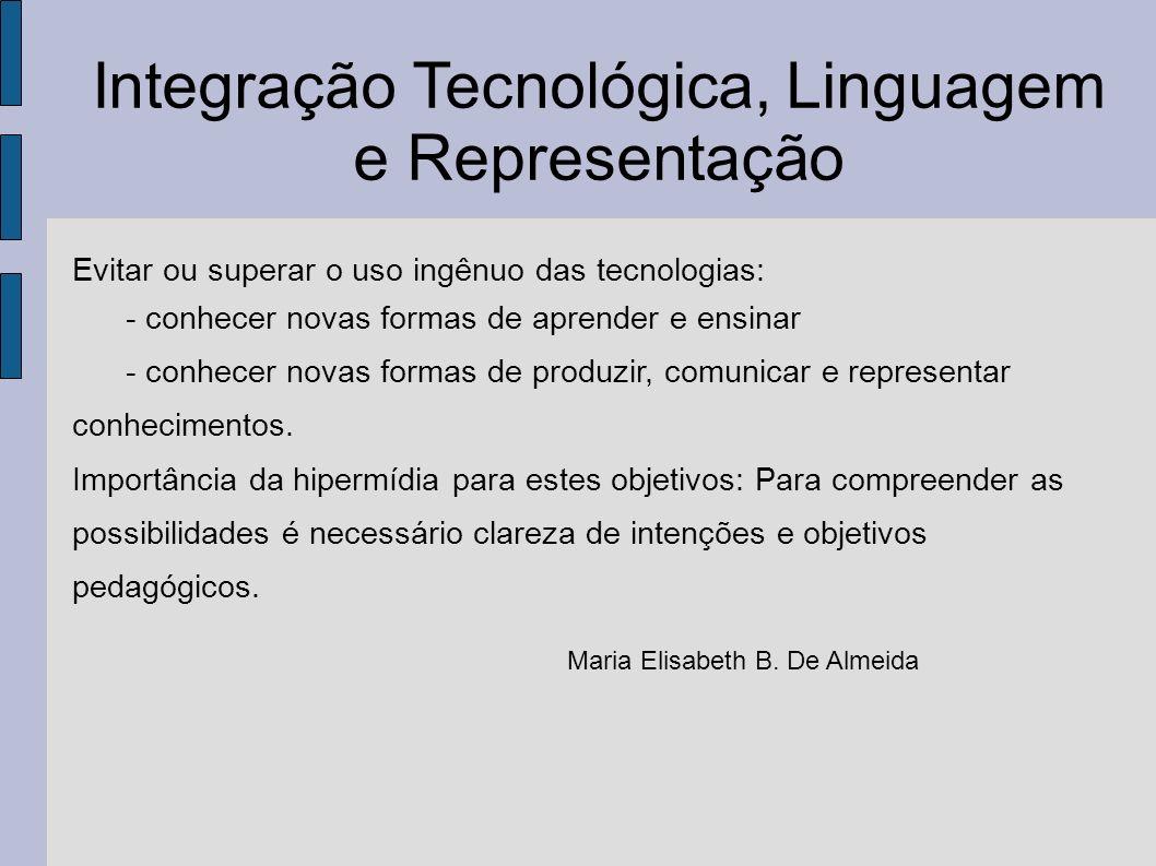 Integração Tecnológica, Linguagem e Representação