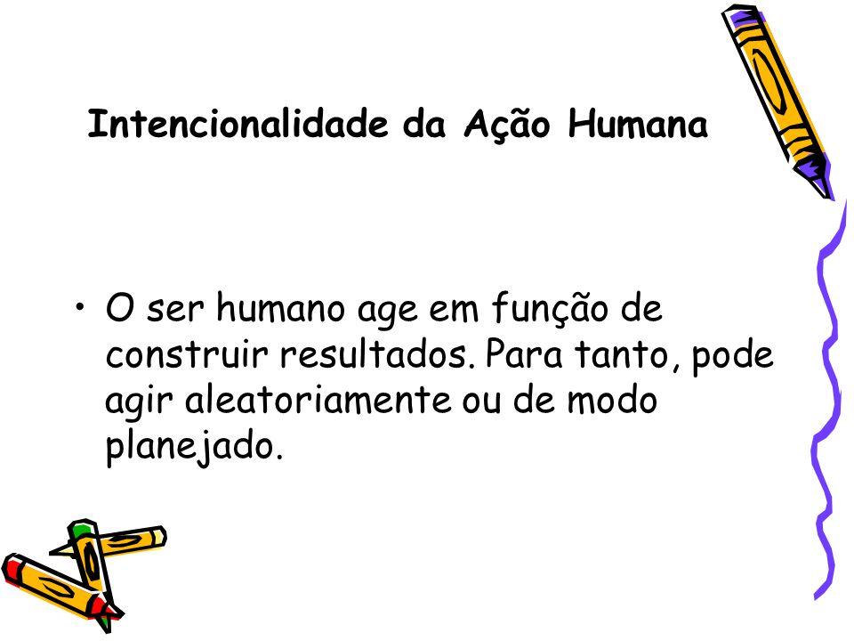 Intencionalidade da Ação Humana