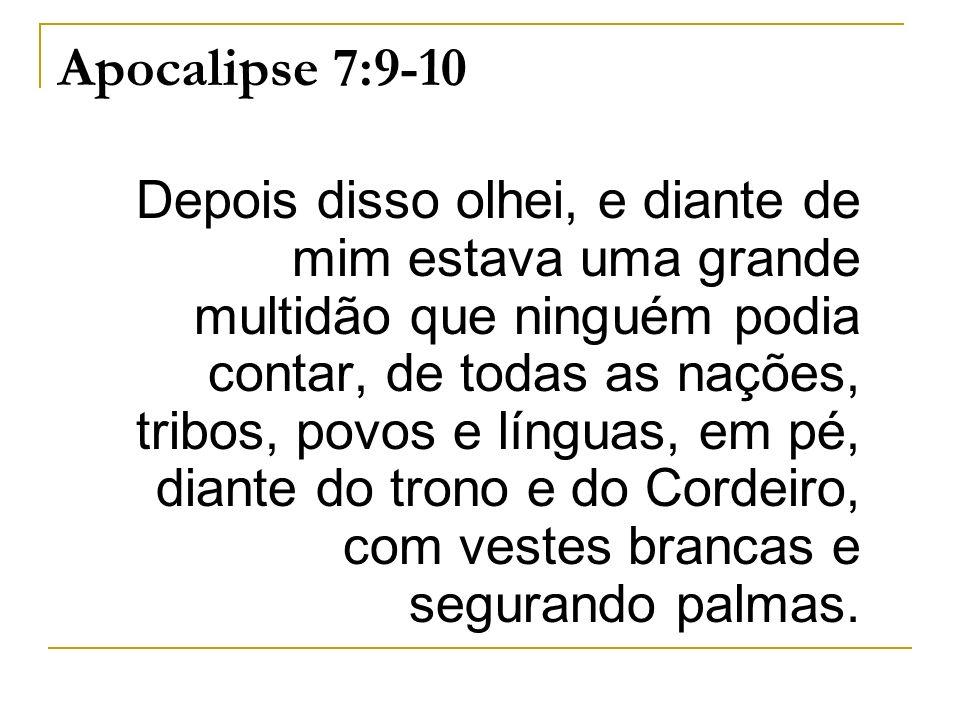 Apocalipse 7:9-10