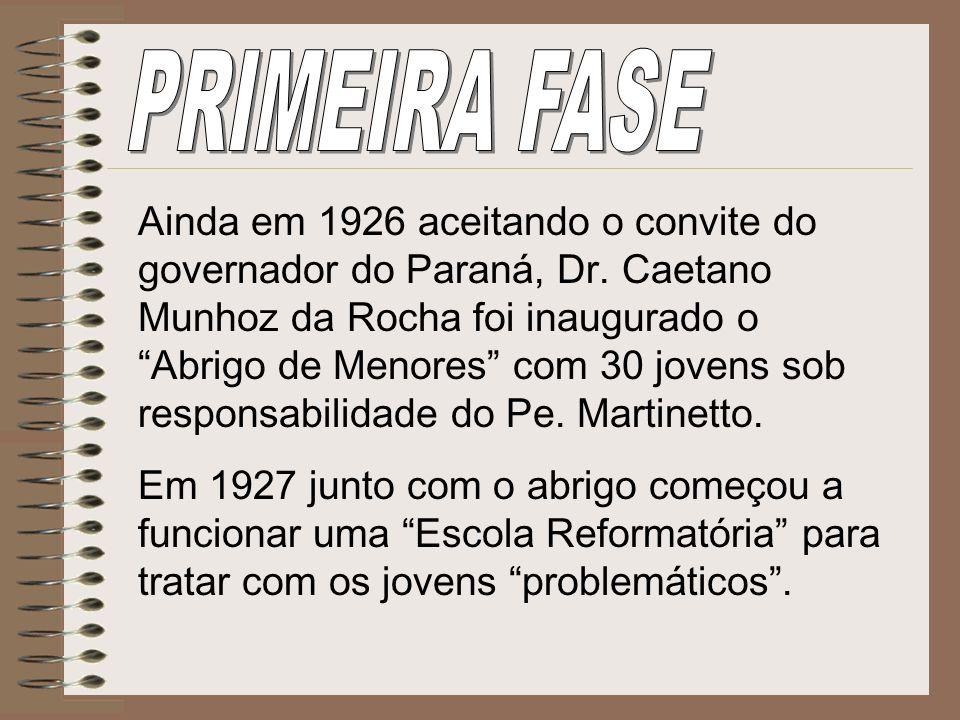 PRIMEIRA FASE