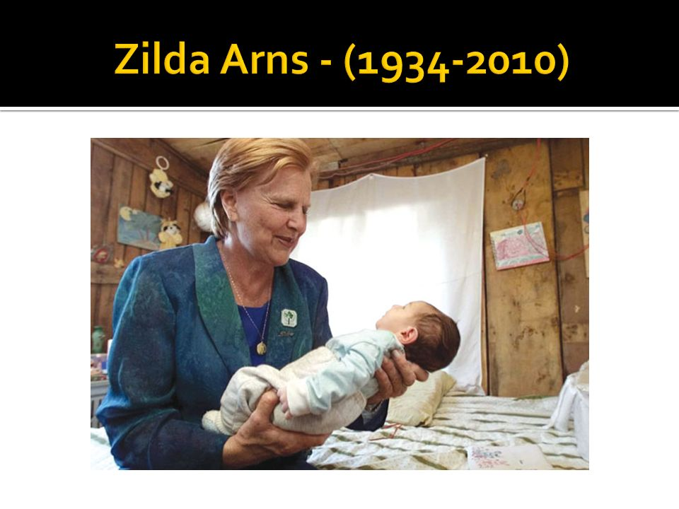 Zilda Arns - (1934-2010)