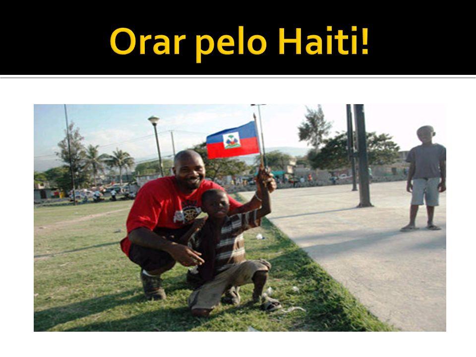 Orar pelo Haiti!