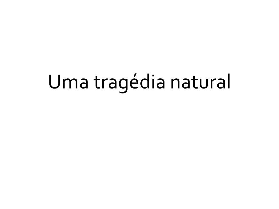 Uma tragédia natural