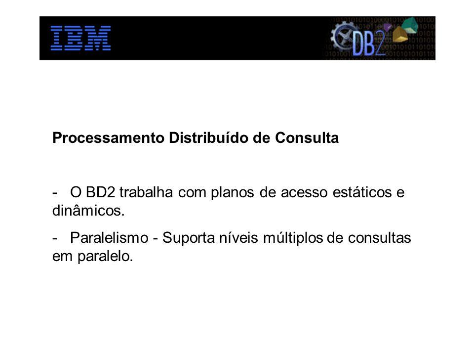 Processamento Distribuído de Consulta