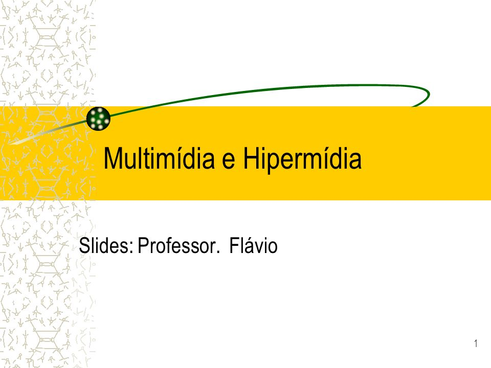 Multimídia e Hipermídia