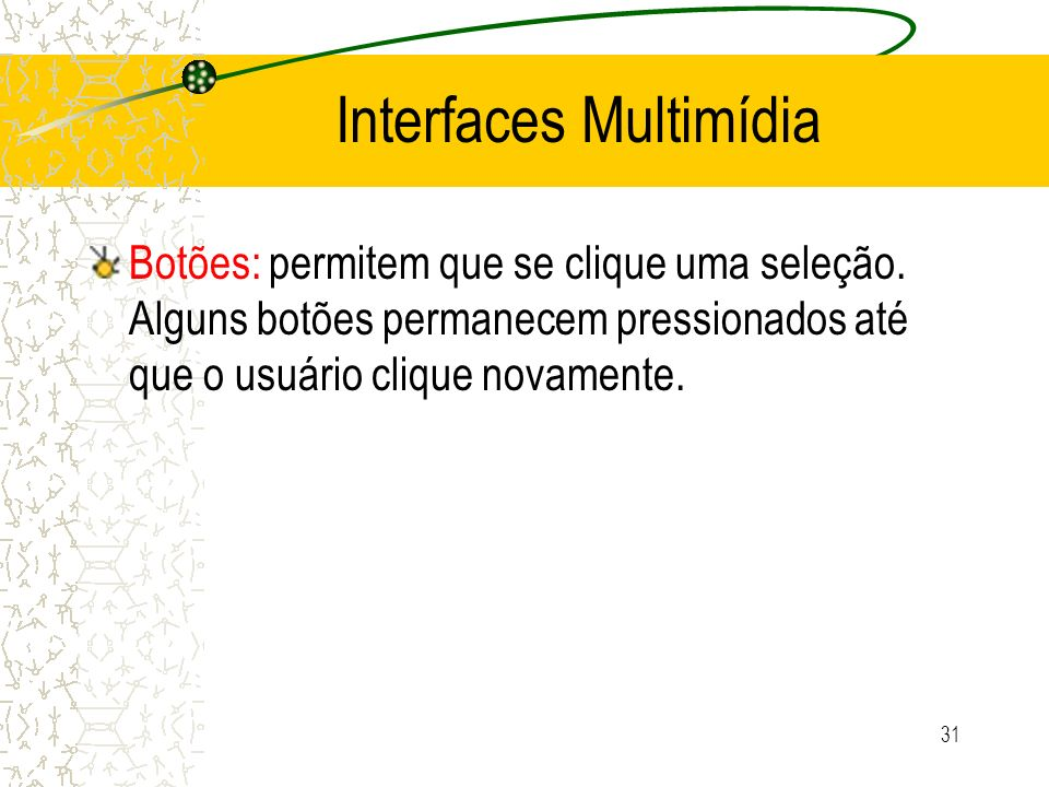 Interfaces Multimídia