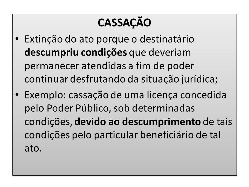 CASSAÇÃO