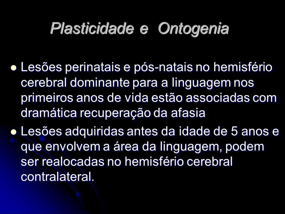 Plasticidade e Ontogenia