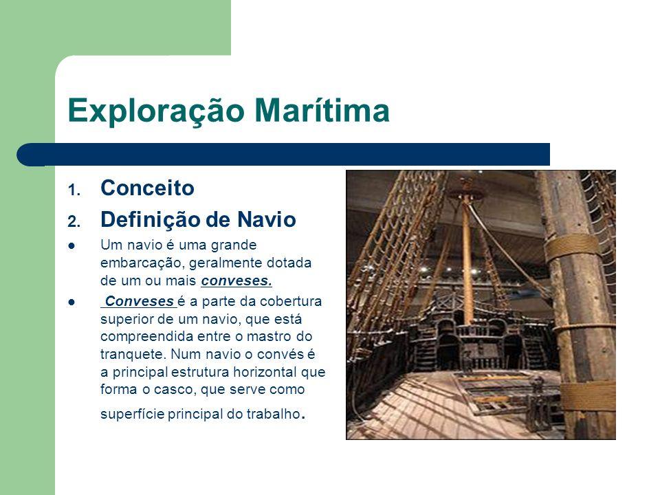 Exploração Marítima Conceito Definição de Navio