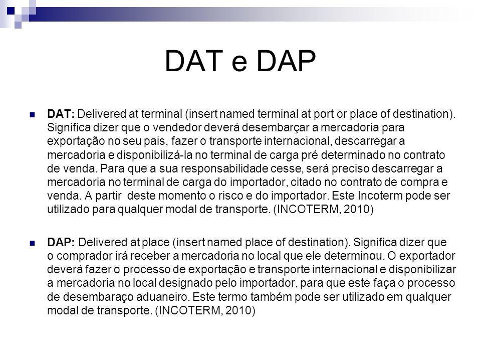 DAT e DAP