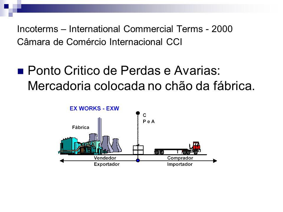 Incoterms – International Commercial Terms - 2000 Câmara de Comércio Internacional CCI