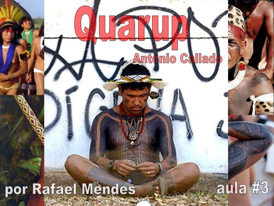 Quarup Antonio Callado aula #3 por Rafael Mendes