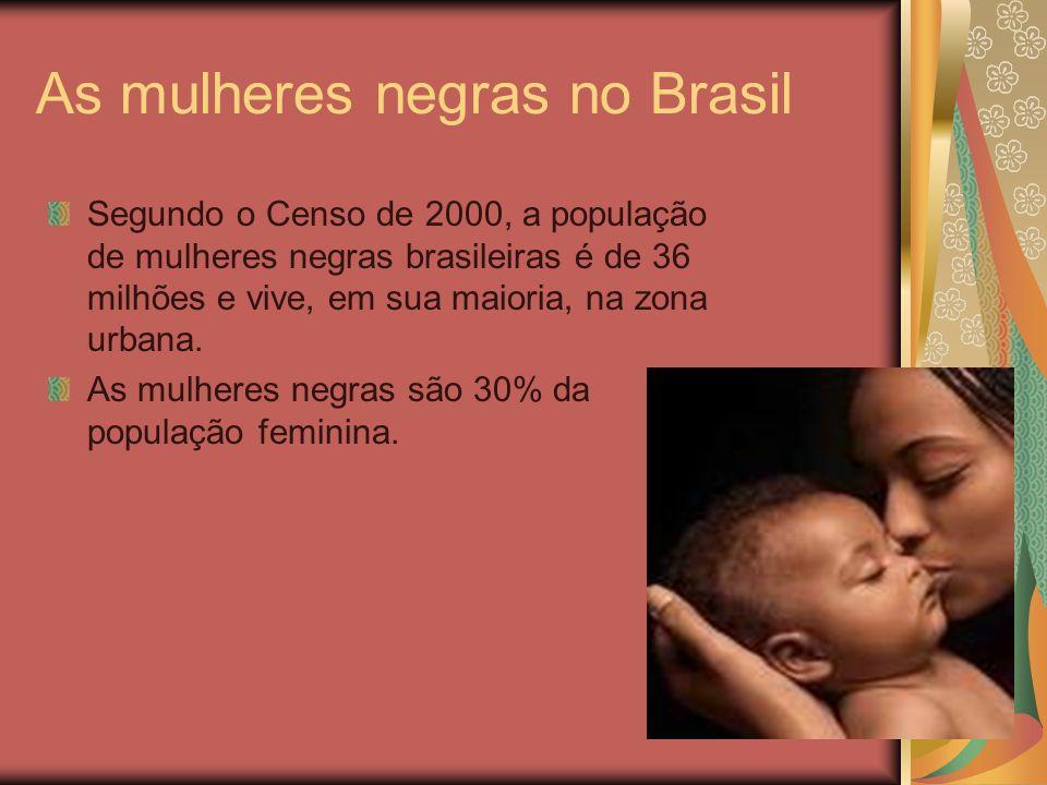 As mulheres negras no Brasil