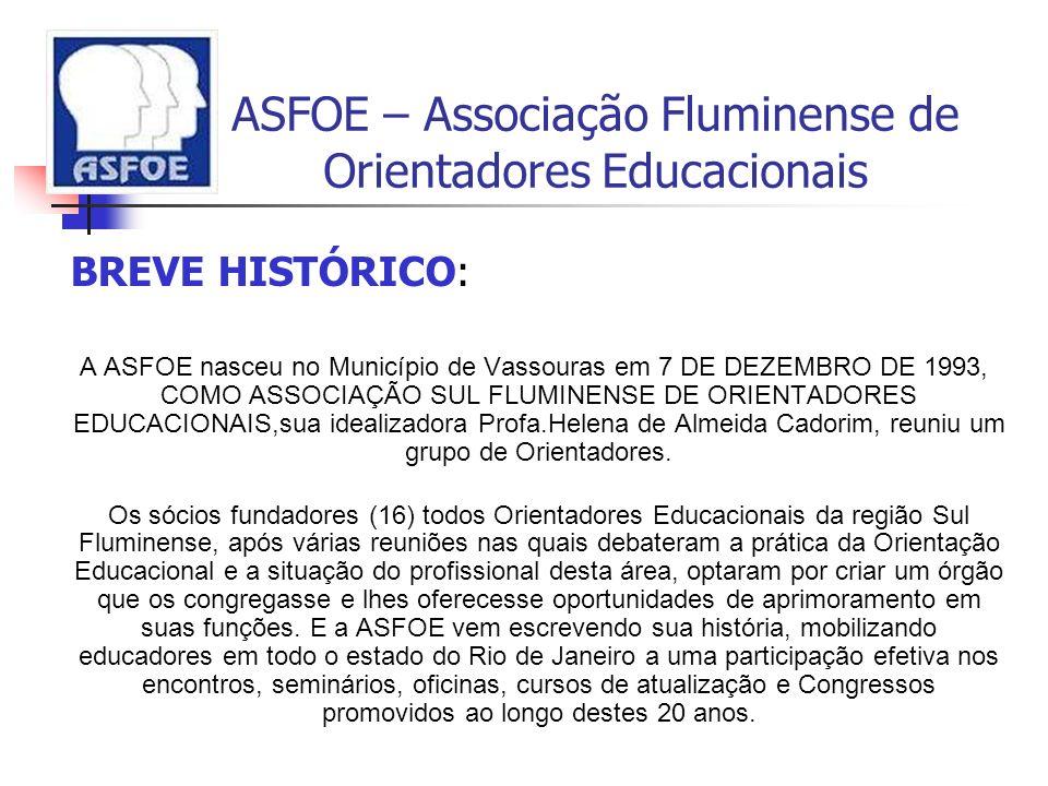 ASFOE – Associação Fluminense de Orientadores Educacionais
