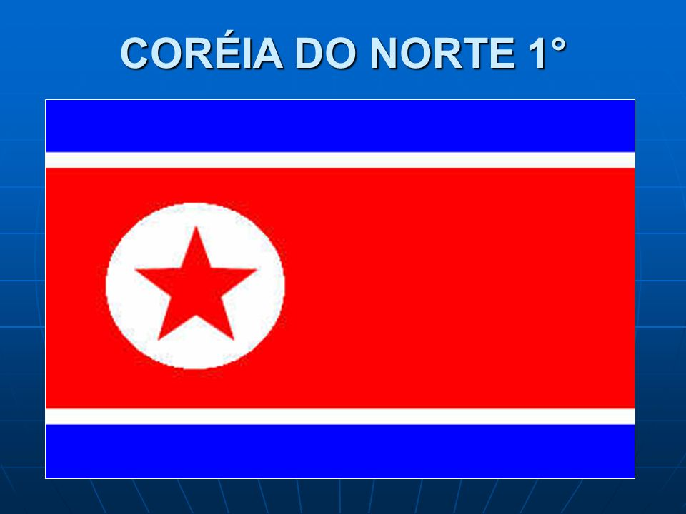 CORÉIA DO NORTE 1°