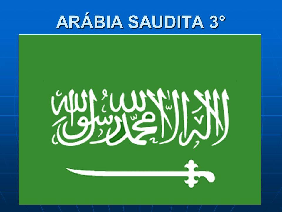 ARÁBIA SAUDITA 3°