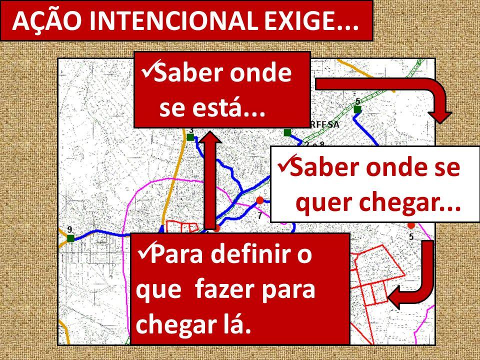 AÇÃO INTENCIONAL EXIGE...