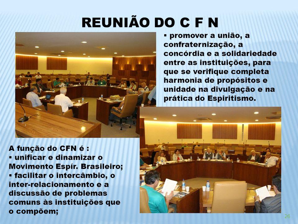 REUNIÃO DO C F N