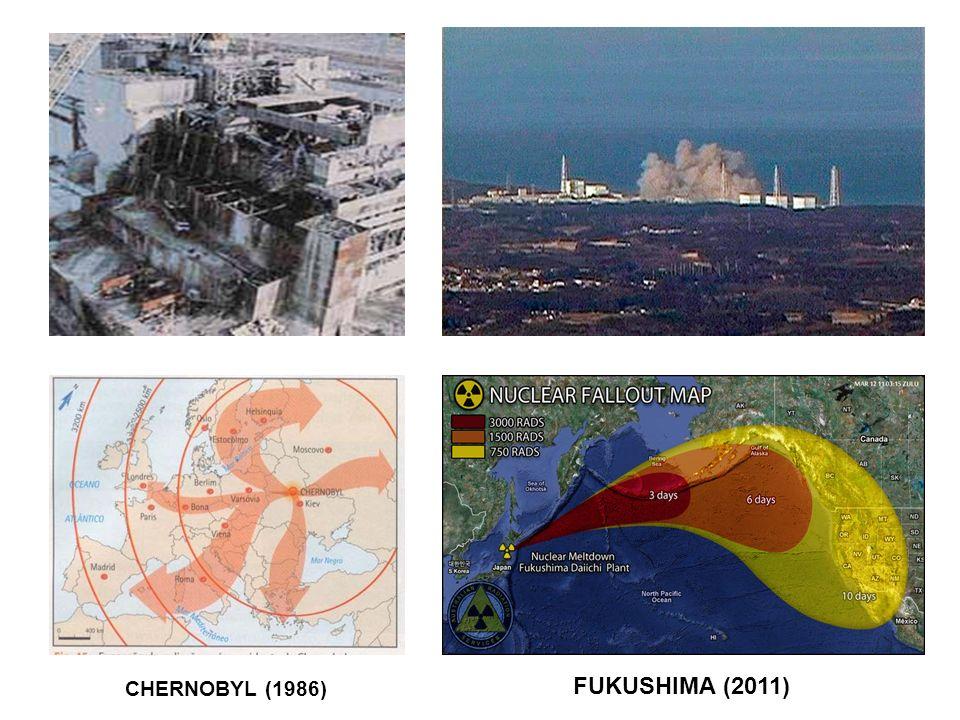 CHERNOBYL (1986) FUKUSHIMA (2011)