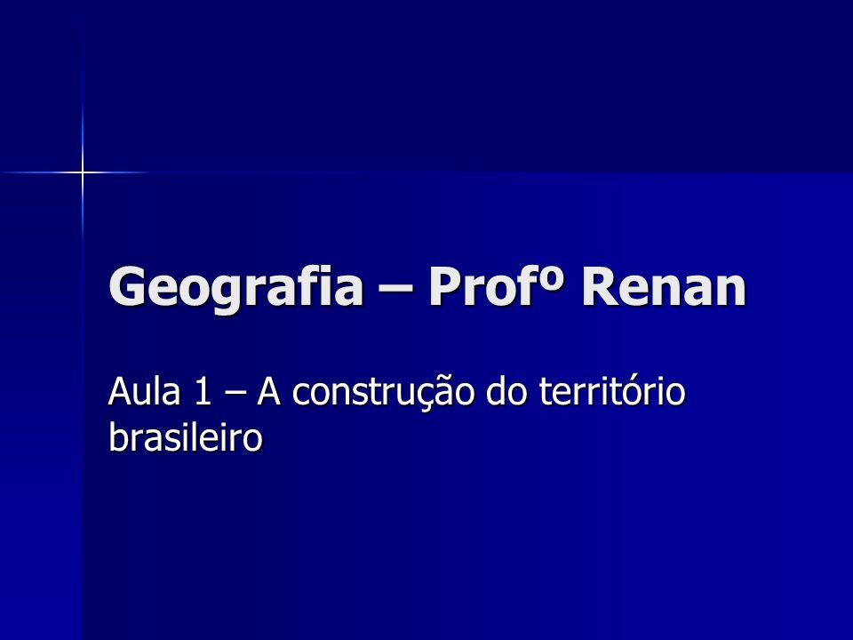 Geografia – Profº Renan