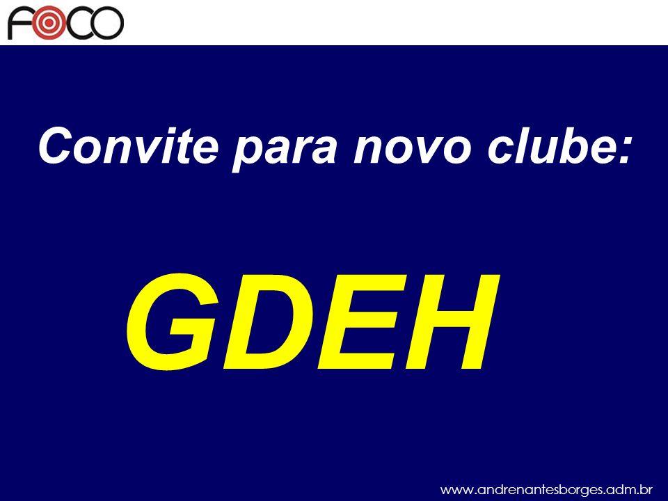 Convite para novo clube: