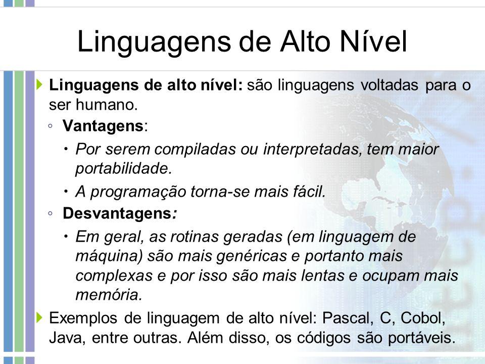 Linguagens de Alto Nível
