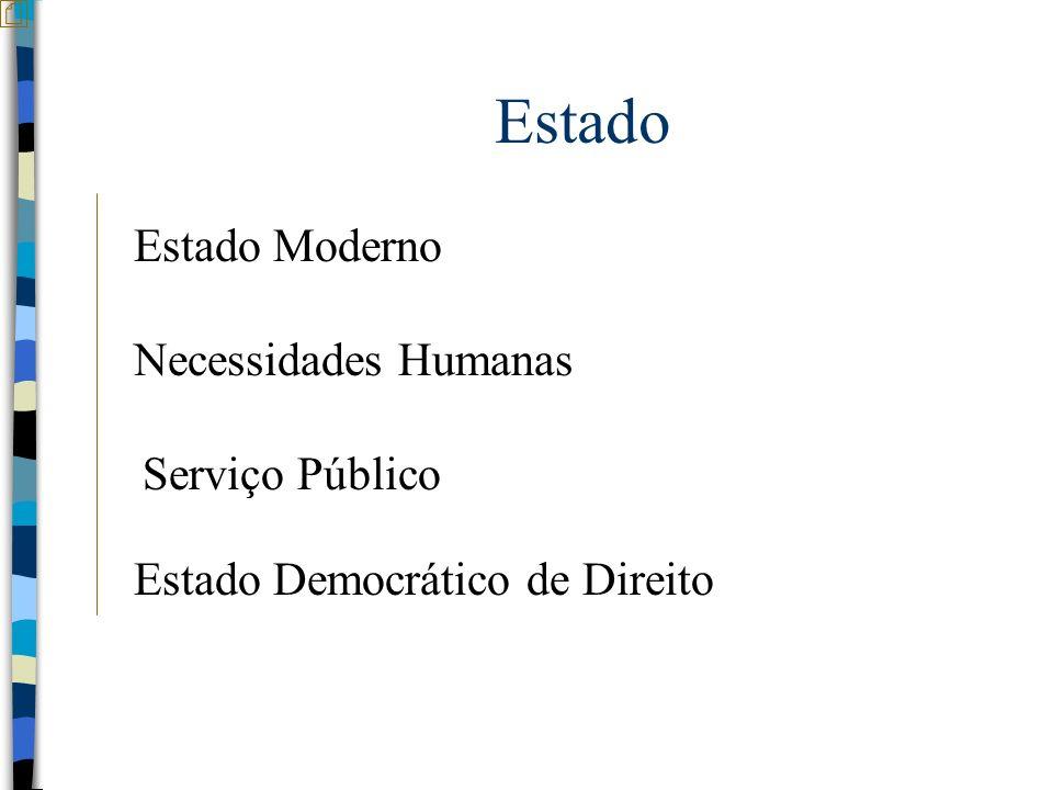 Estado Estado Moderno Necessidades Humanas Serviço Público
