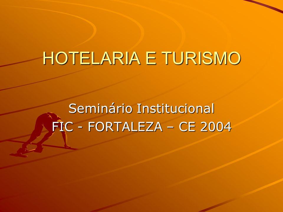 Seminário Institucional FIC - FORTALEZA – CE 2004