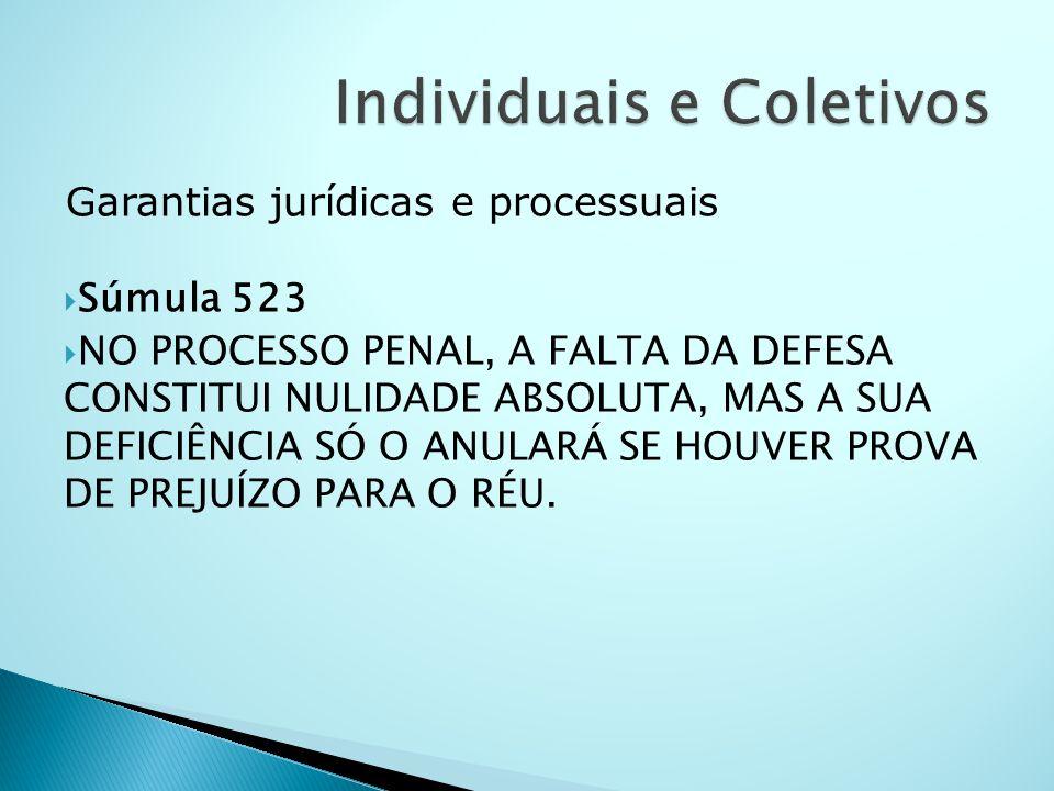 Individuais e Coletivos