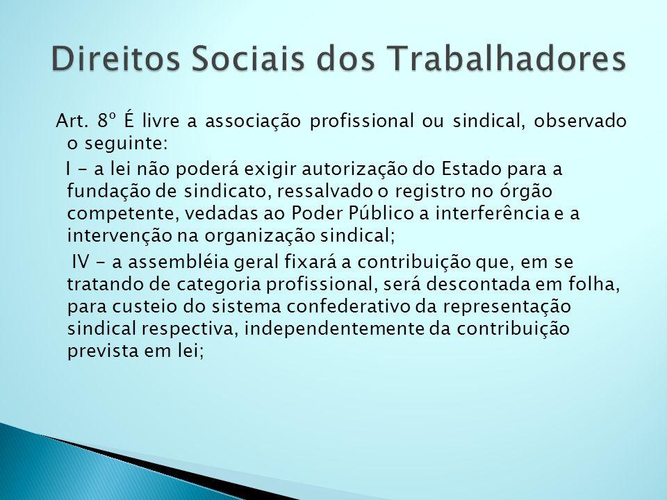 Direitos Sociais dos Trabalhadores