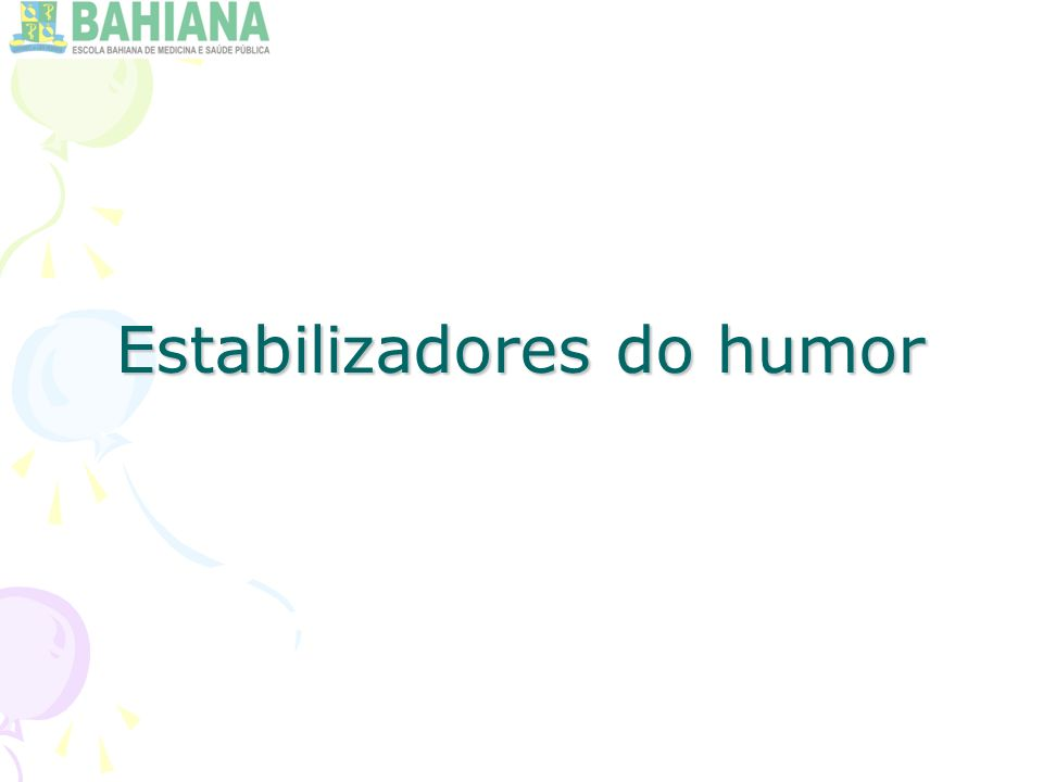Estabilizadores do humor