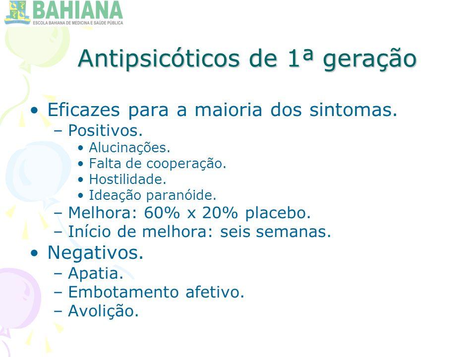 Antipsicóticos de 1ª geração