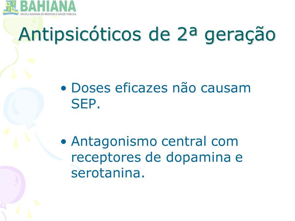 Antipsicóticos de 2ª geração