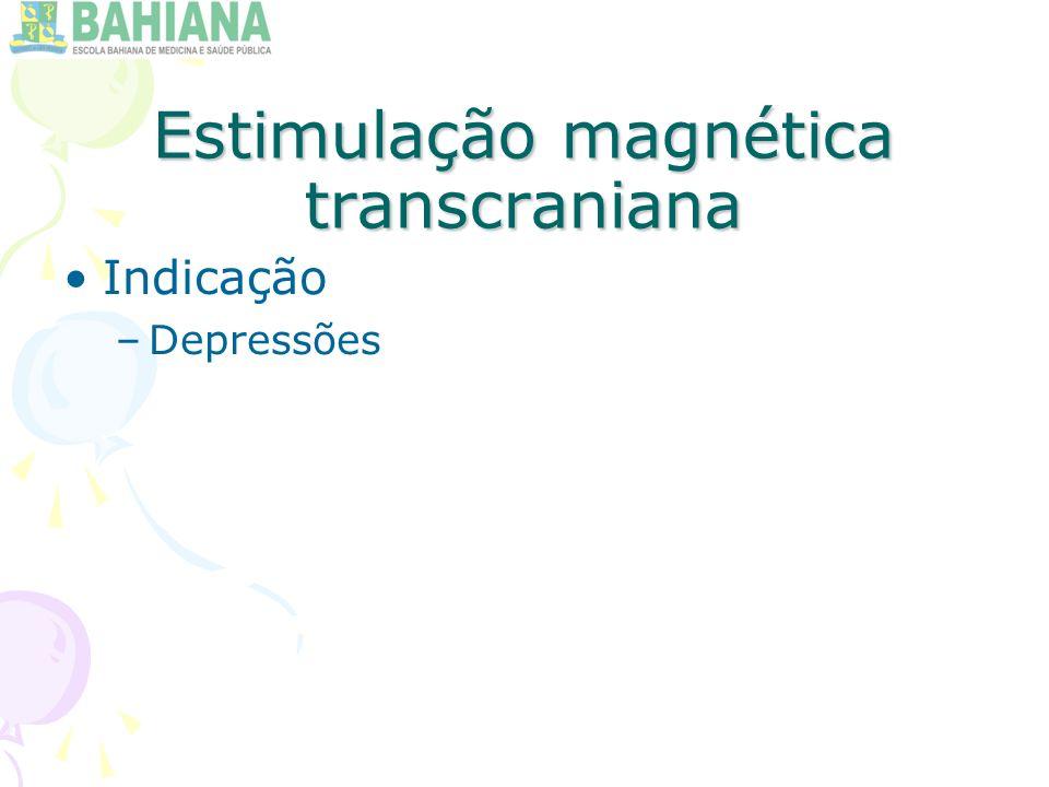 Estimulação magnética transcraniana