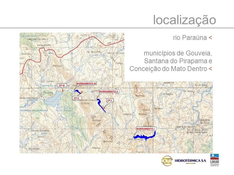 localização rio Paraúna <