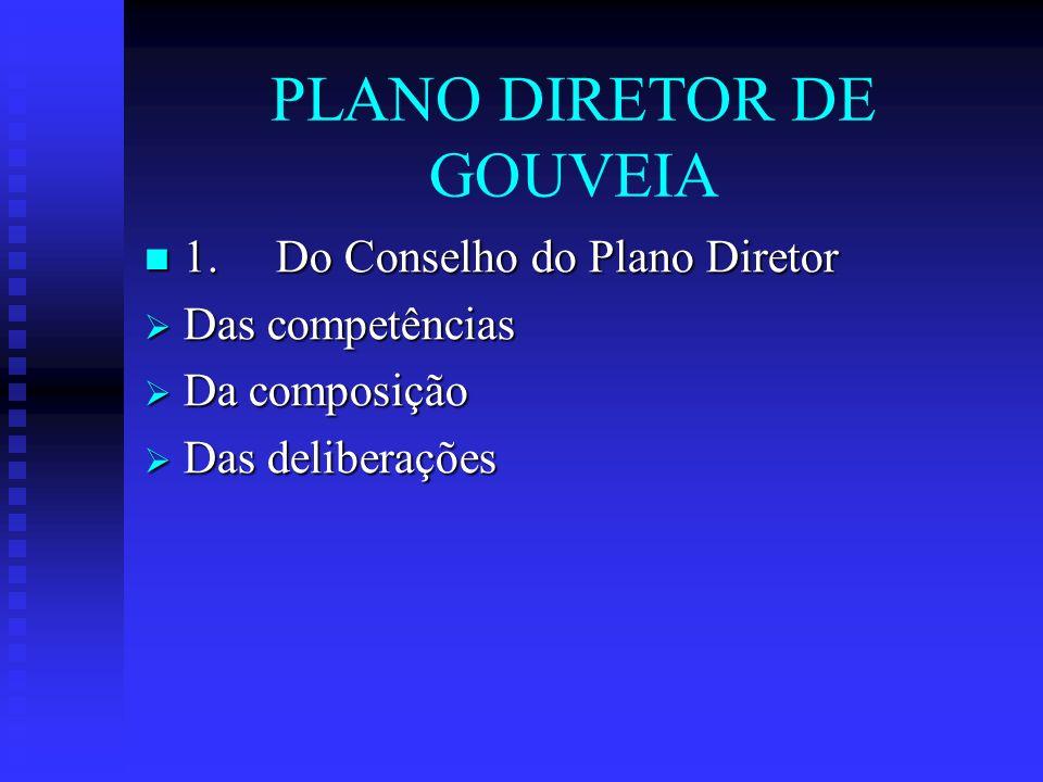 PLANO DIRETOR DE GOUVEIA