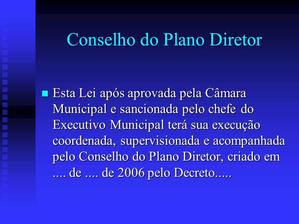 Conselho do Plano Diretor