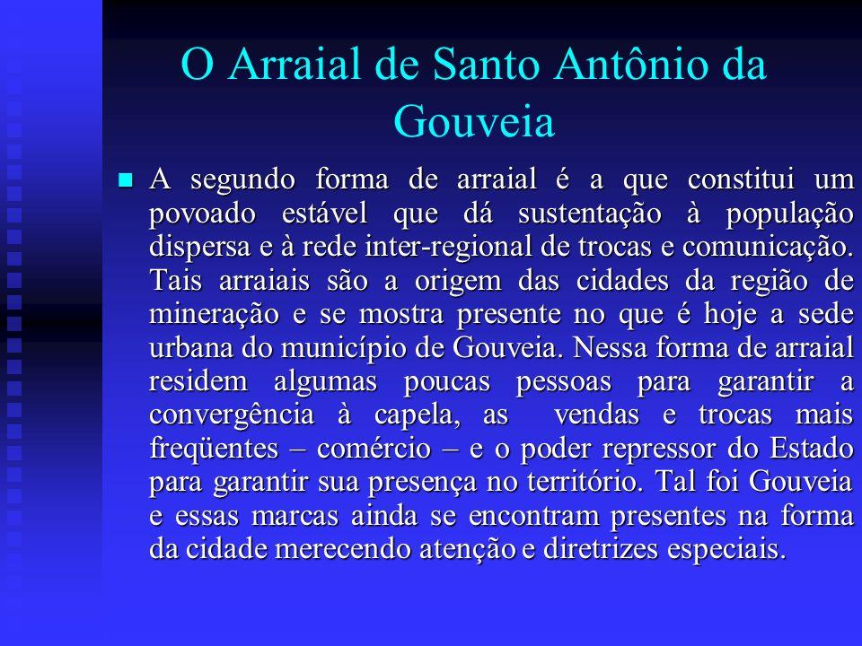 O Arraial de Santo Antônio da Gouveia