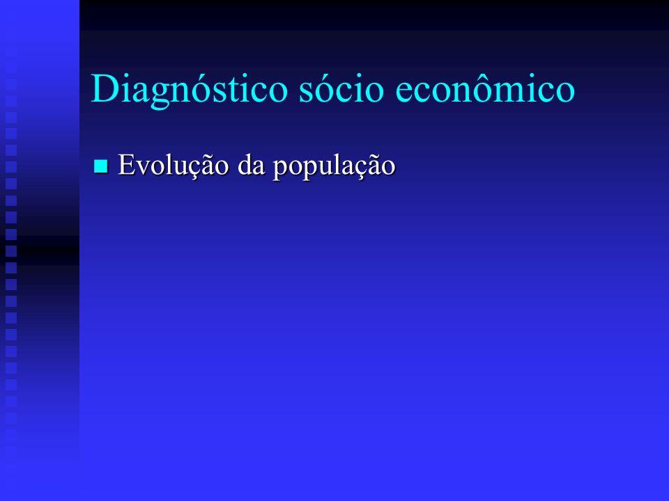 Diagnóstico sócio econômico
