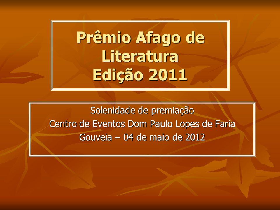 Prêmio Afago de Literatura Edição 2011