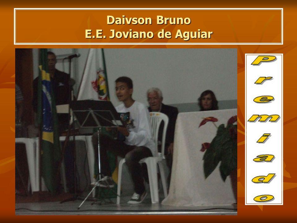 Daivson Bruno E.E. Joviano de Aguiar
