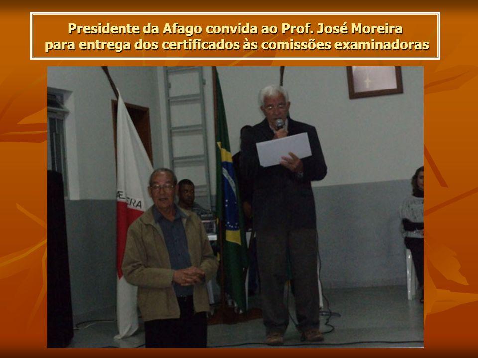 Presidente da Afago convida ao Prof