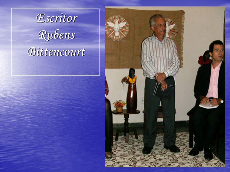 Escritor Rubens Bittencourt