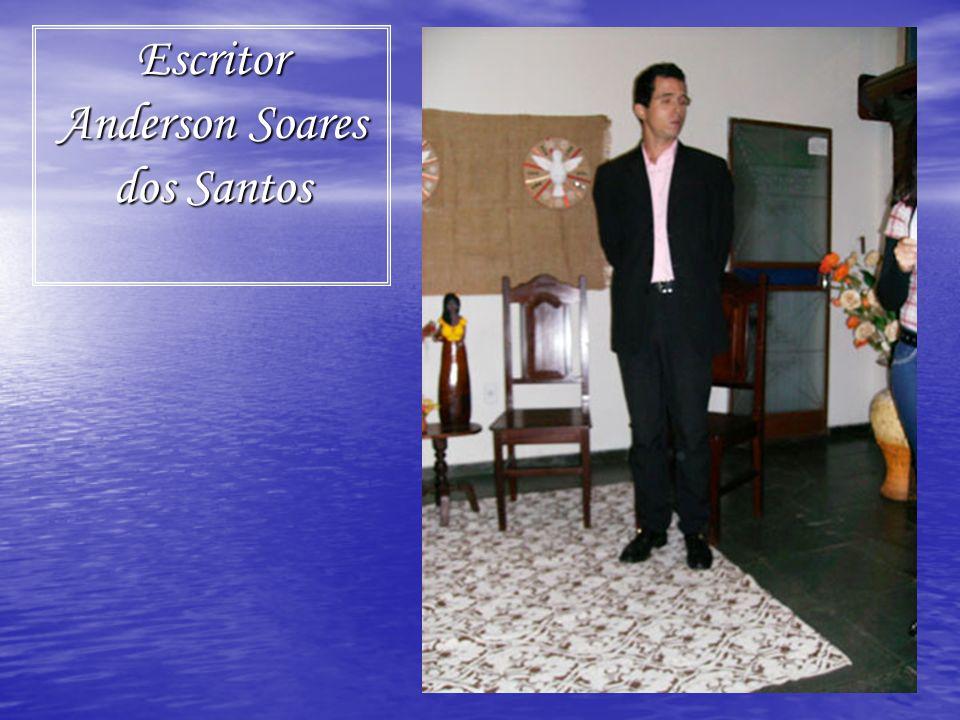 Escritor Anderson Soares dos Santos