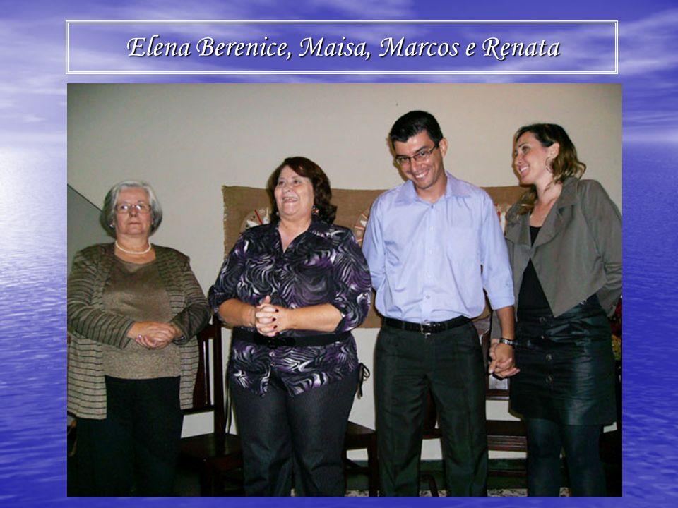 Elena Berenice, Maisa, Marcos e Renata