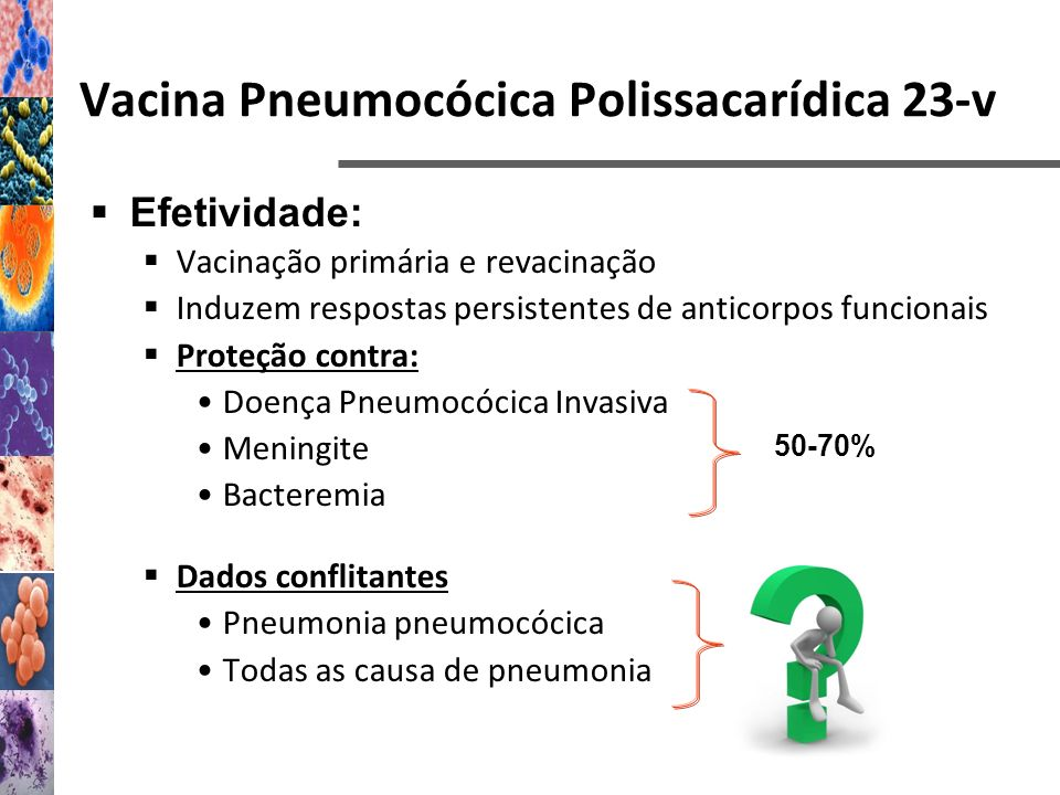 Vacina Pneumocócica Polissacarídica 23-v