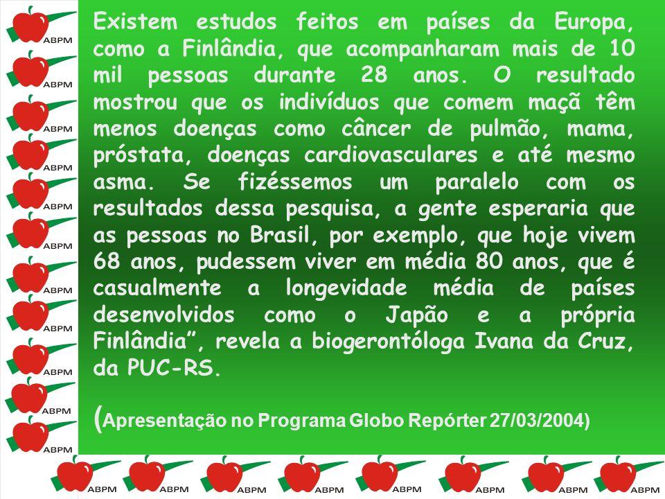 (Apresentação no Programa Globo Repórter 27/03/2004)